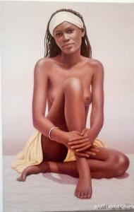 AISSATA: Bernard Mens, oil on canvas - 3