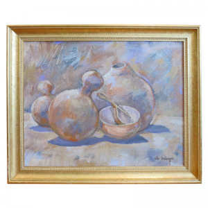 STILL LIFE WITH GOURD VESSELS